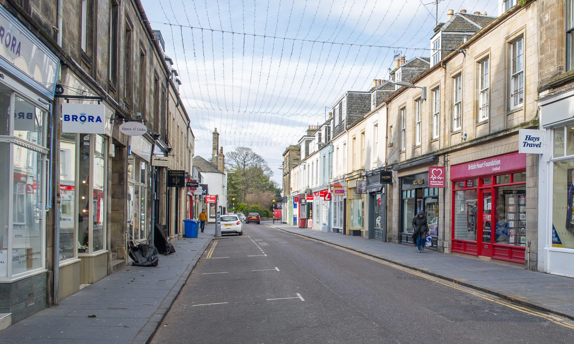 Bell Street, St Andrews.