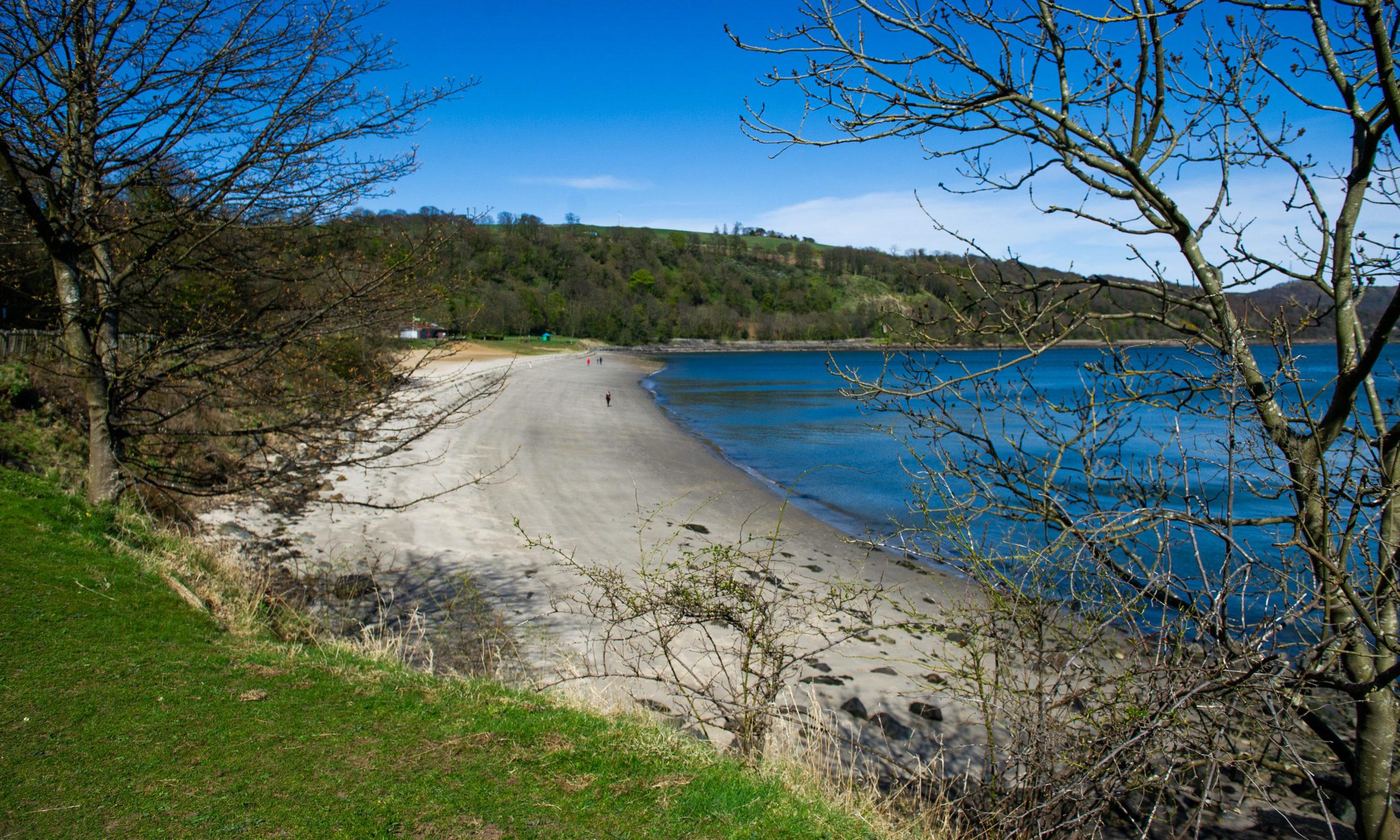 Silver Sands beach, Aberdour