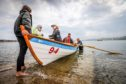 Normally communities would be out and about on the water in their St Ayles skiffs.