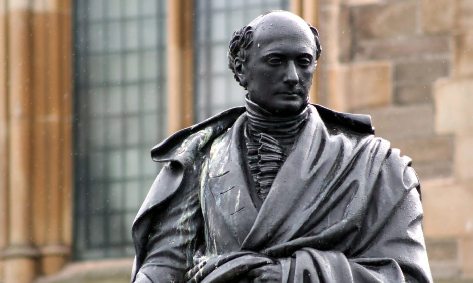 George Kinloch statue in Albert Square, Dundee.