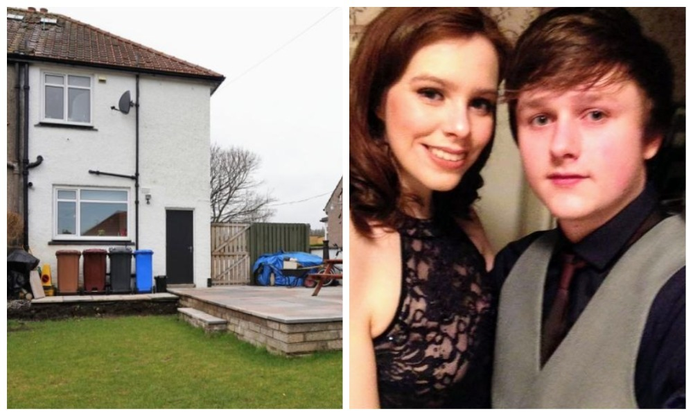 Lydia Moir and Kane McLaughlan have had an offer accepted for a home in Garry Terrace, Dundee.