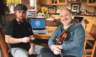 Martin MacLeod Jr and Sr have united musicians around the globe with Tunes in the Hoose.