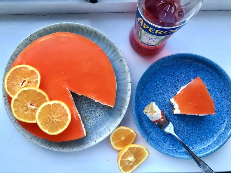 North-east YouTuber Maverick Baking's Aperol Spritz Cheesecake