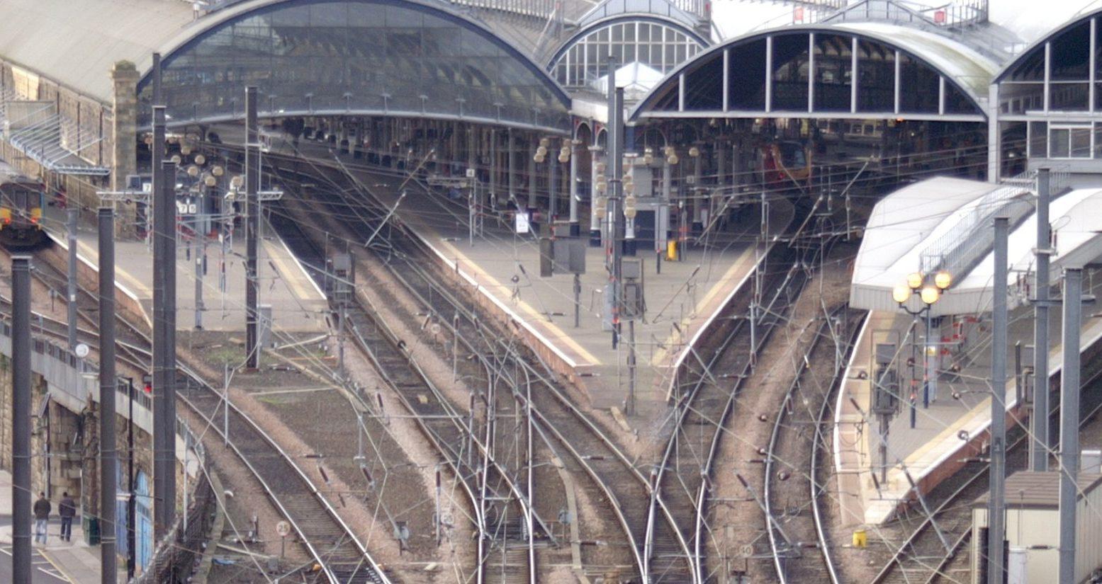 Newcastle Railway Station.