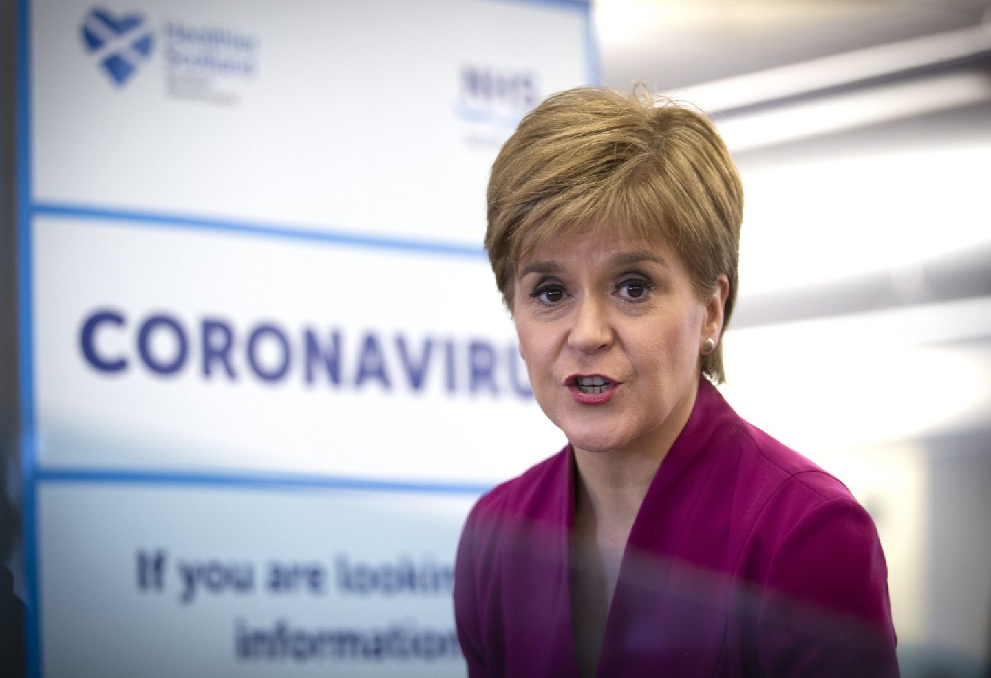 With Holyrood closed Nicola Sturgeon took part in a virtual First Minister's Questions.