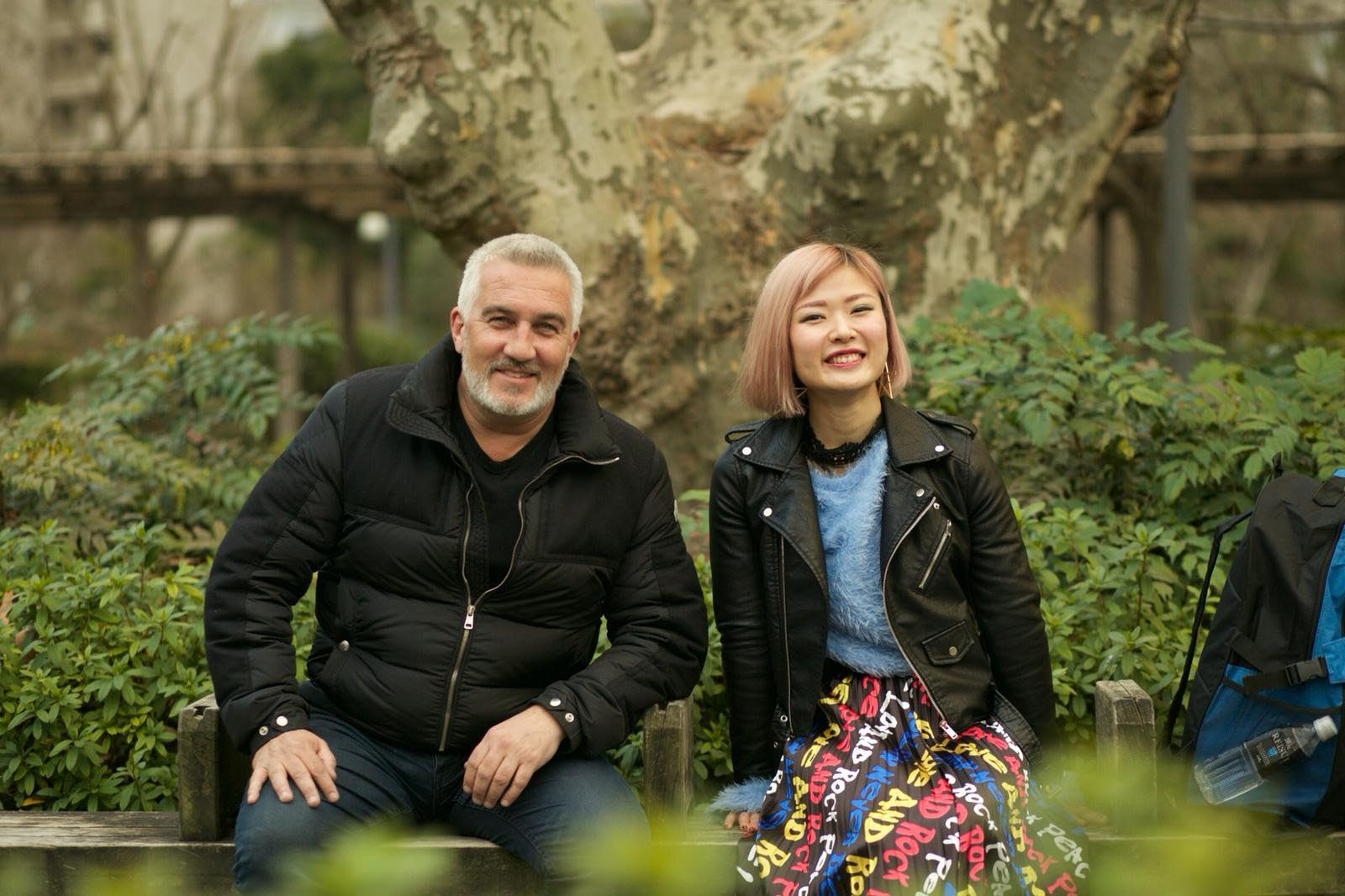 Paul Hollywood Eats Japan.