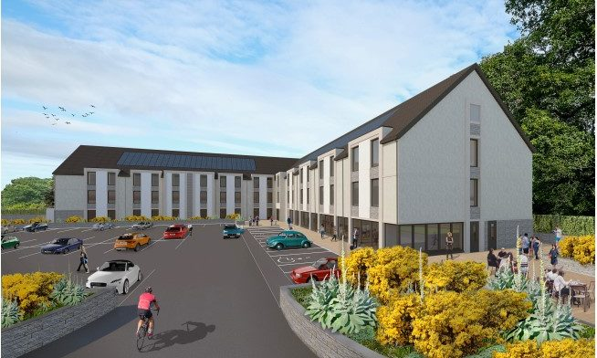 Designs for the Premier Inn in Pitlochry.