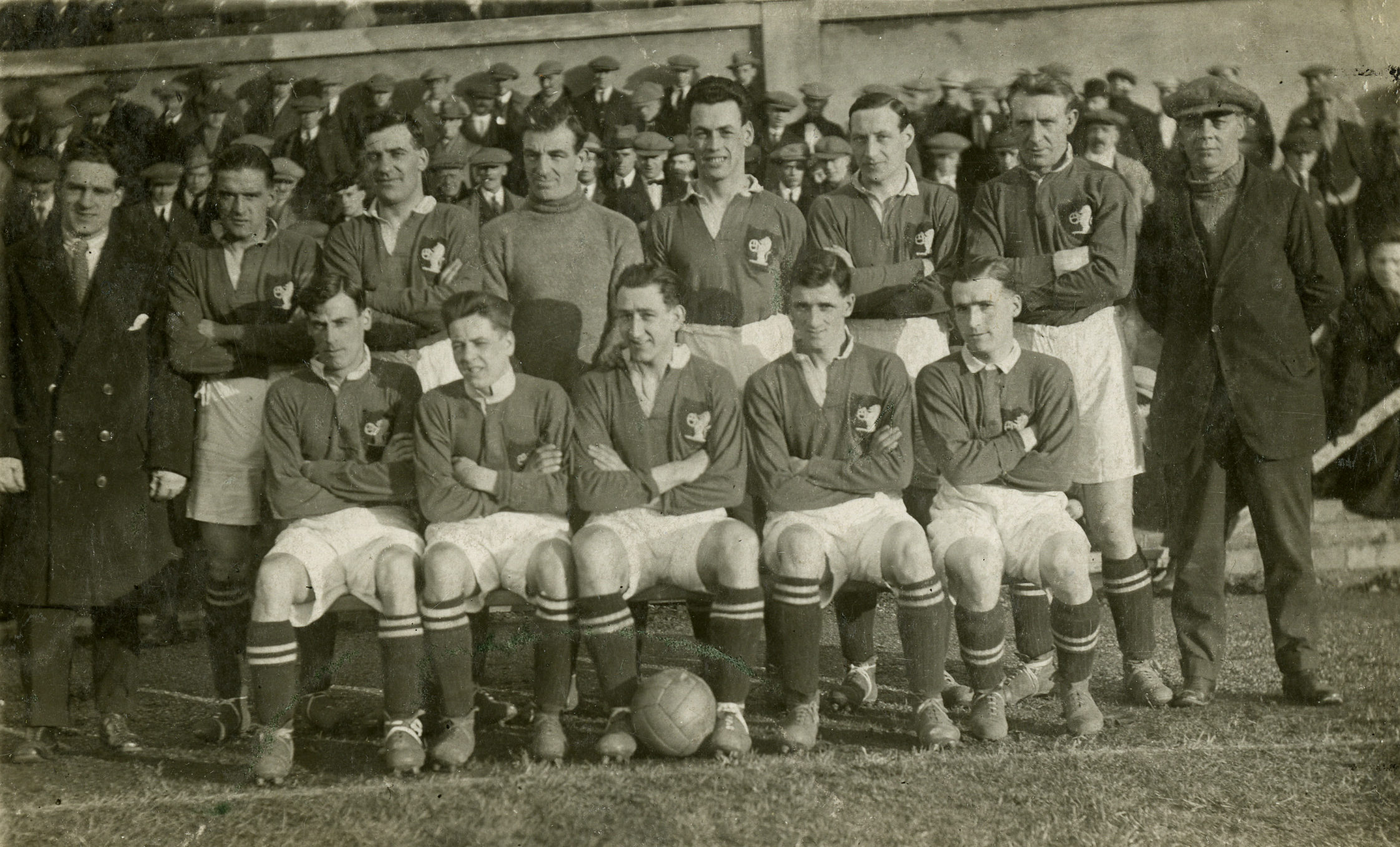 Raith Rovers pictured in the early 1920s.