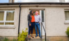 Peter and Fatou arrived home in Birnam after almost two months trapped in The Gambia.
