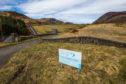 Loch Turret Dam, Glenturret Estate, near Crieff.