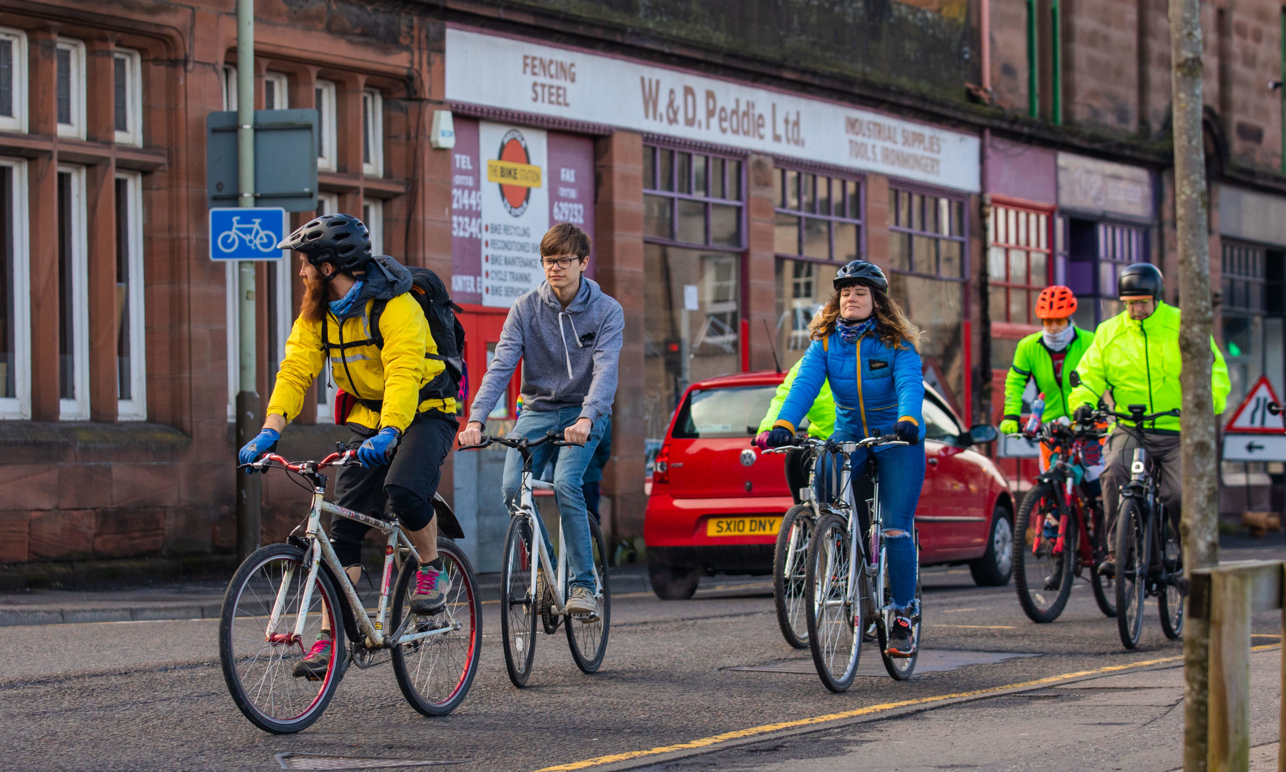 A generous donor has pledged £2,000 towards the future of The Bike Station in Perth.