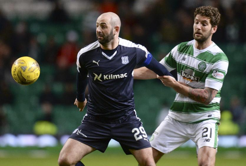 Harkins up against ex-Celtic star Charlie Mulgrew