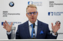European Tour chief executive Keith Pelley.