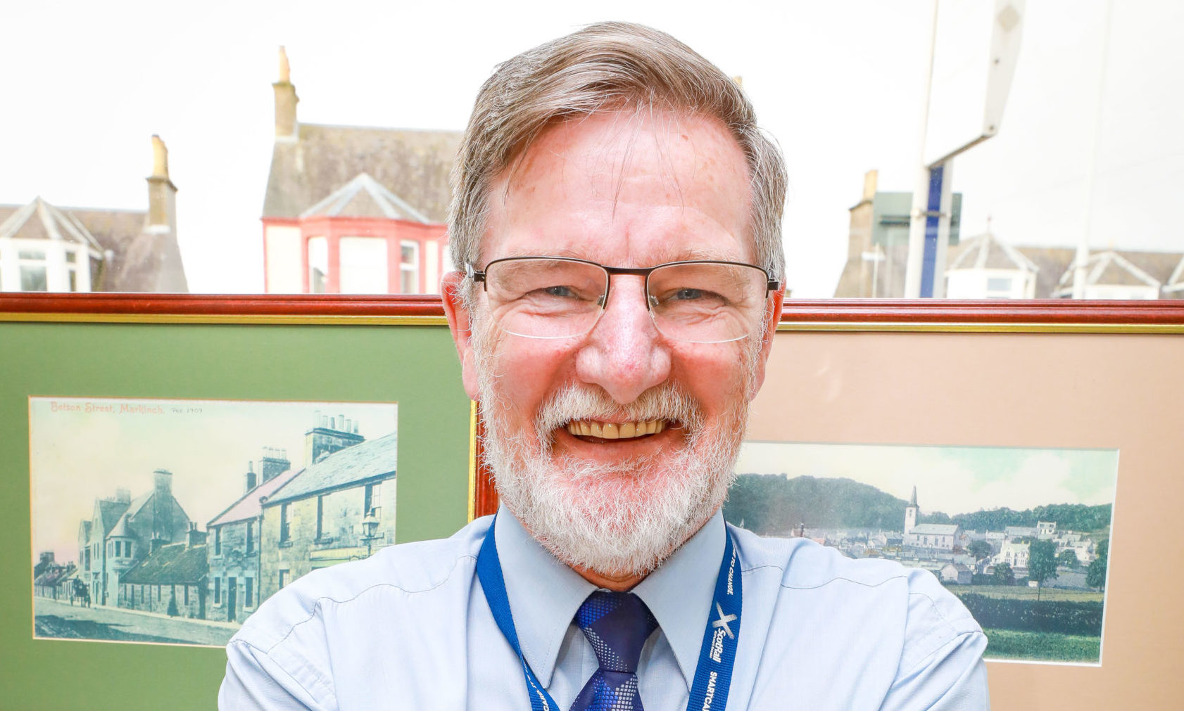 Colin Reed of Markinch Station.