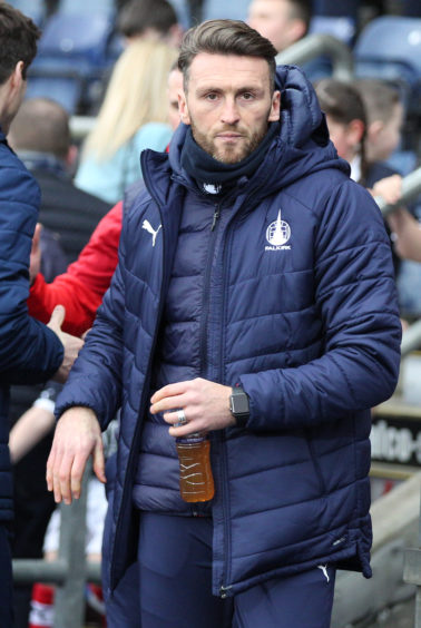 Lee Miller's Falkirk are second in League One