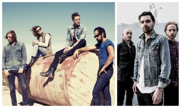 The Killers and Biffy Clyro.