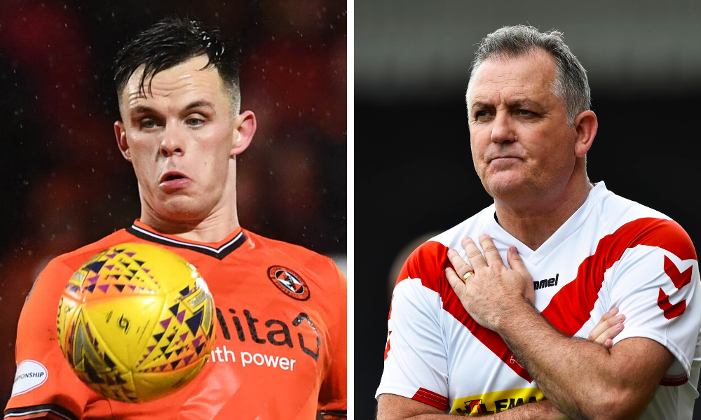 Owen Coyle is a huge fan of Dundee United star Lawrence Shankland