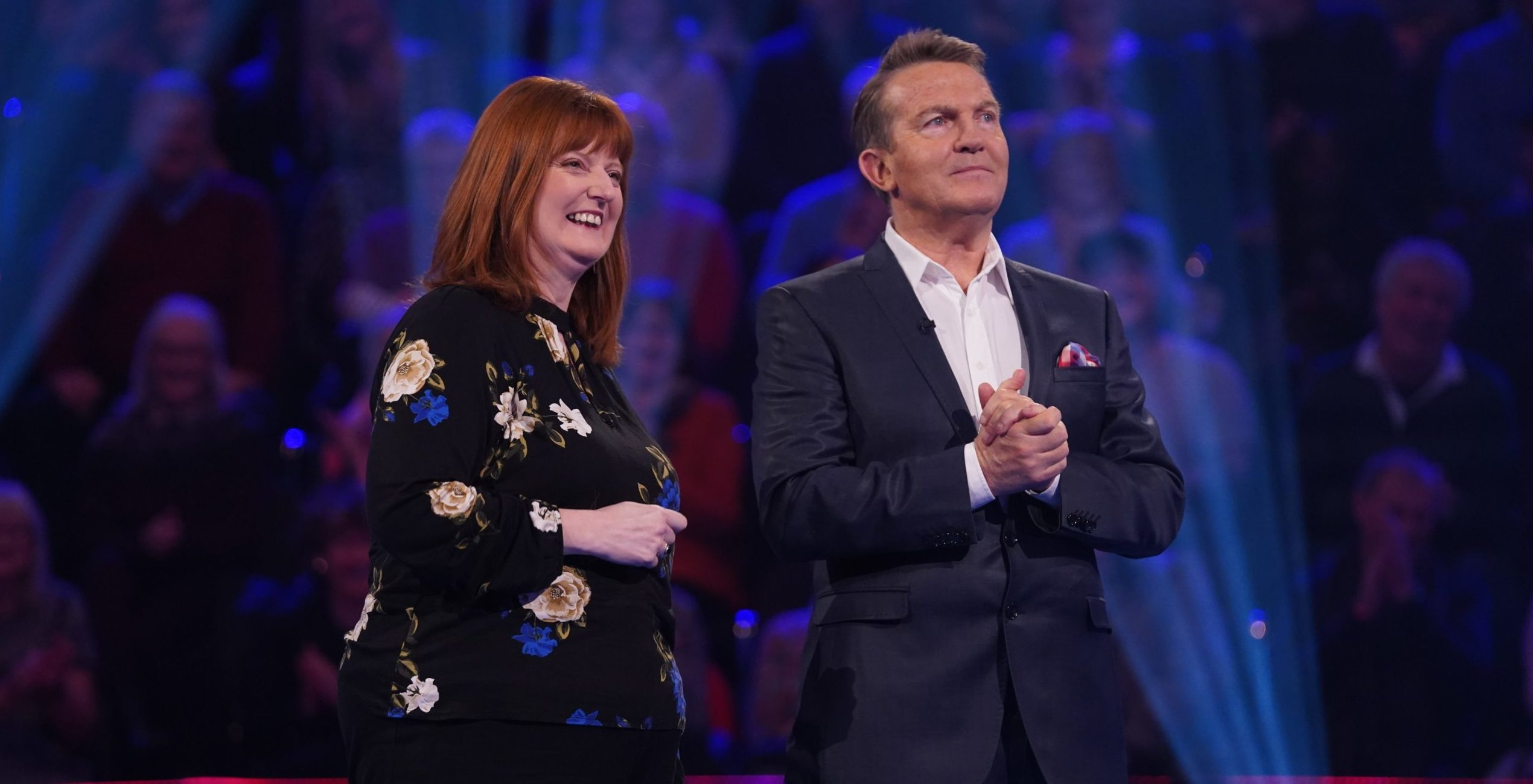 Rachel Richardson plays alongside Bradley Walsh.