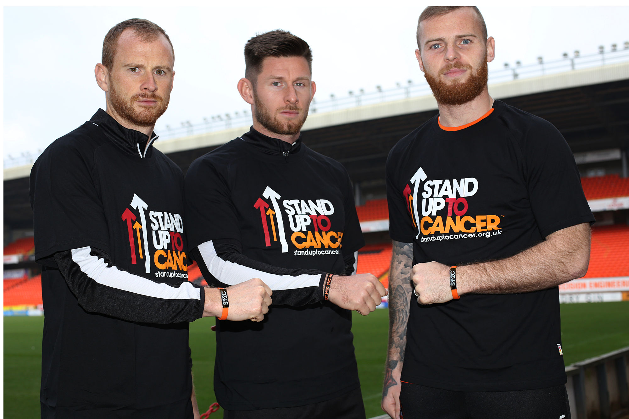 Mark Reynolds, Calum Butcher and Mark Connolly are members of United's leadership group