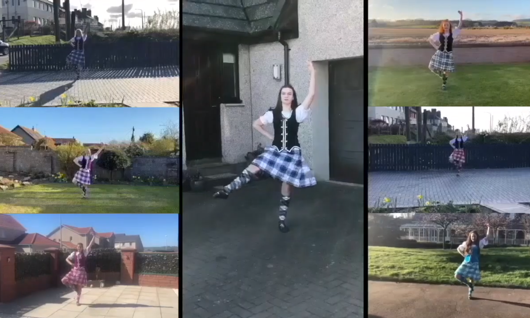 The Gordon School of Dance in Montrose has sent a special video birthday message to Captain Tom Moore.