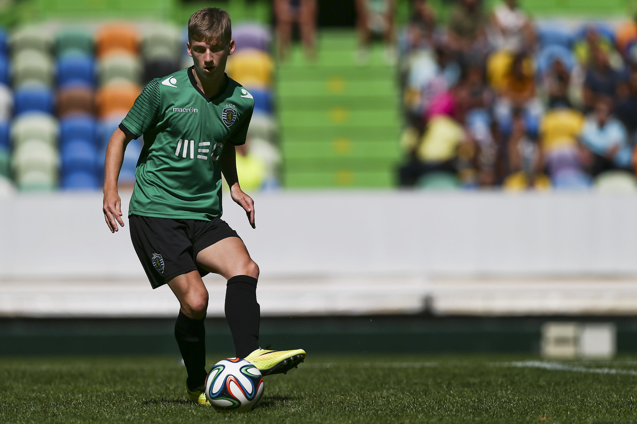 Ryan Gauld in Portugal.
