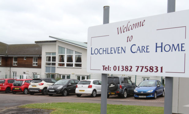 A general view of Loch Leven Care Home on Lawers Drive in Broughty Ferry.  Pic by Mhairi Edwards.
