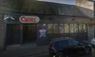 The North St nightclub premises.