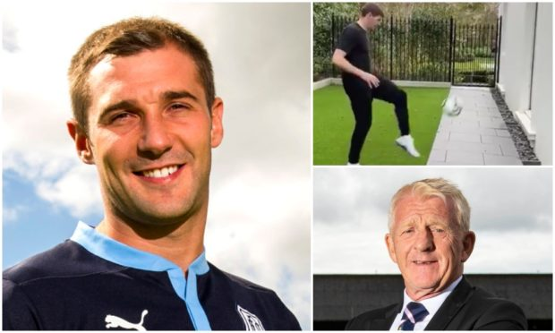 Kevin Thomson's football challenge has gone viral