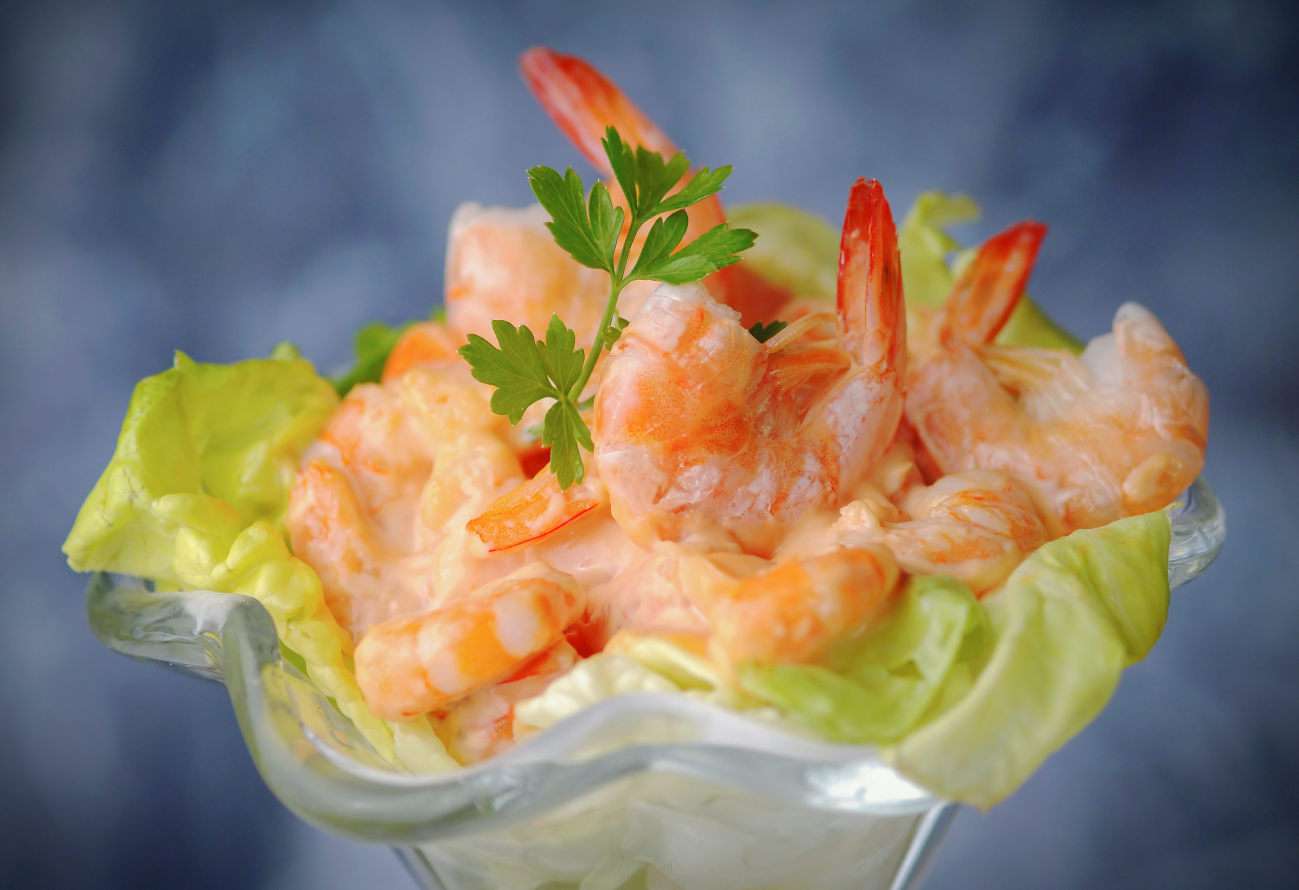 Prawn cocktail was popular in the 80s
