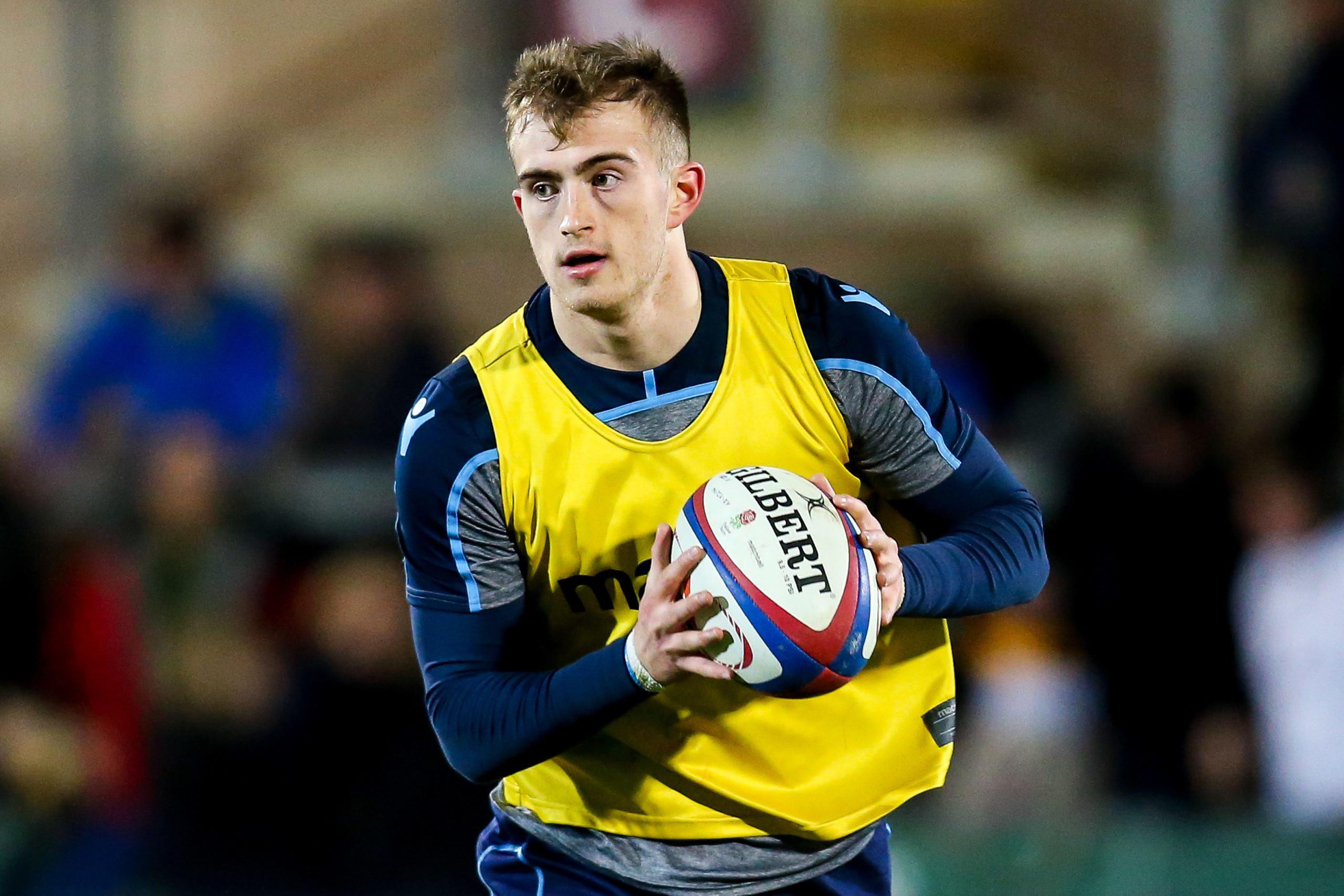 Edinburgh and Scotland U20 stand-off Nathan Chamberlain.