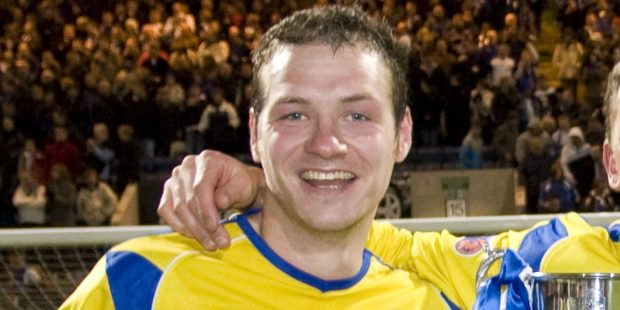 Kenny Deuchar had two spells at St Johnstone and also played for East Fife and Arbroath