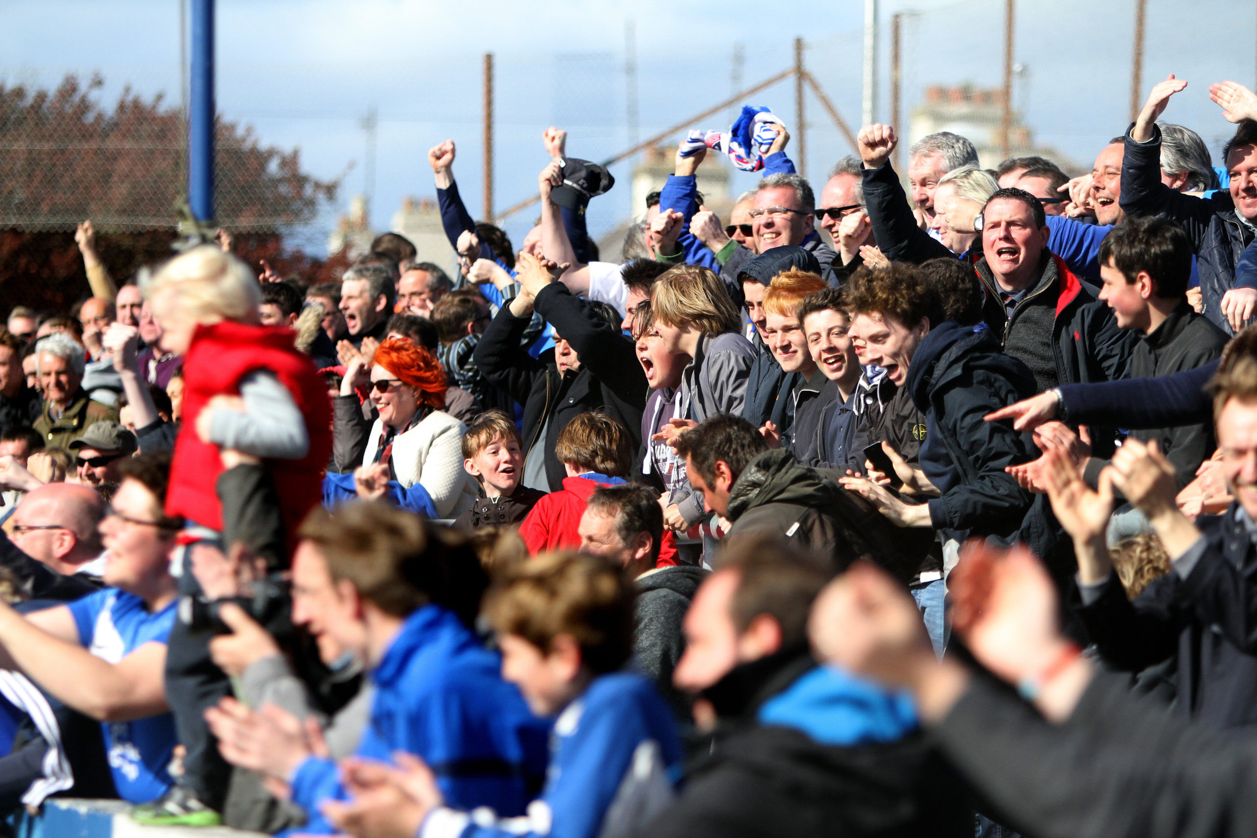 Montrose FC fans have raised £15,000 for their club within weeks.