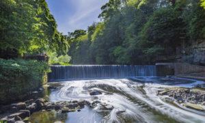Cramond Falls, Edinburgh