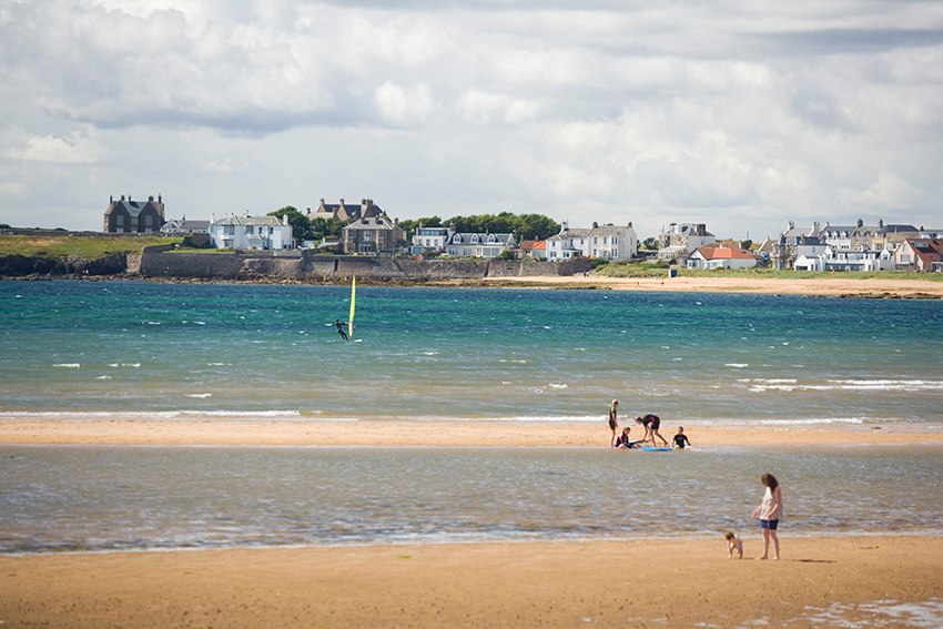 Elie and Earlsferry is a particular hotspot.