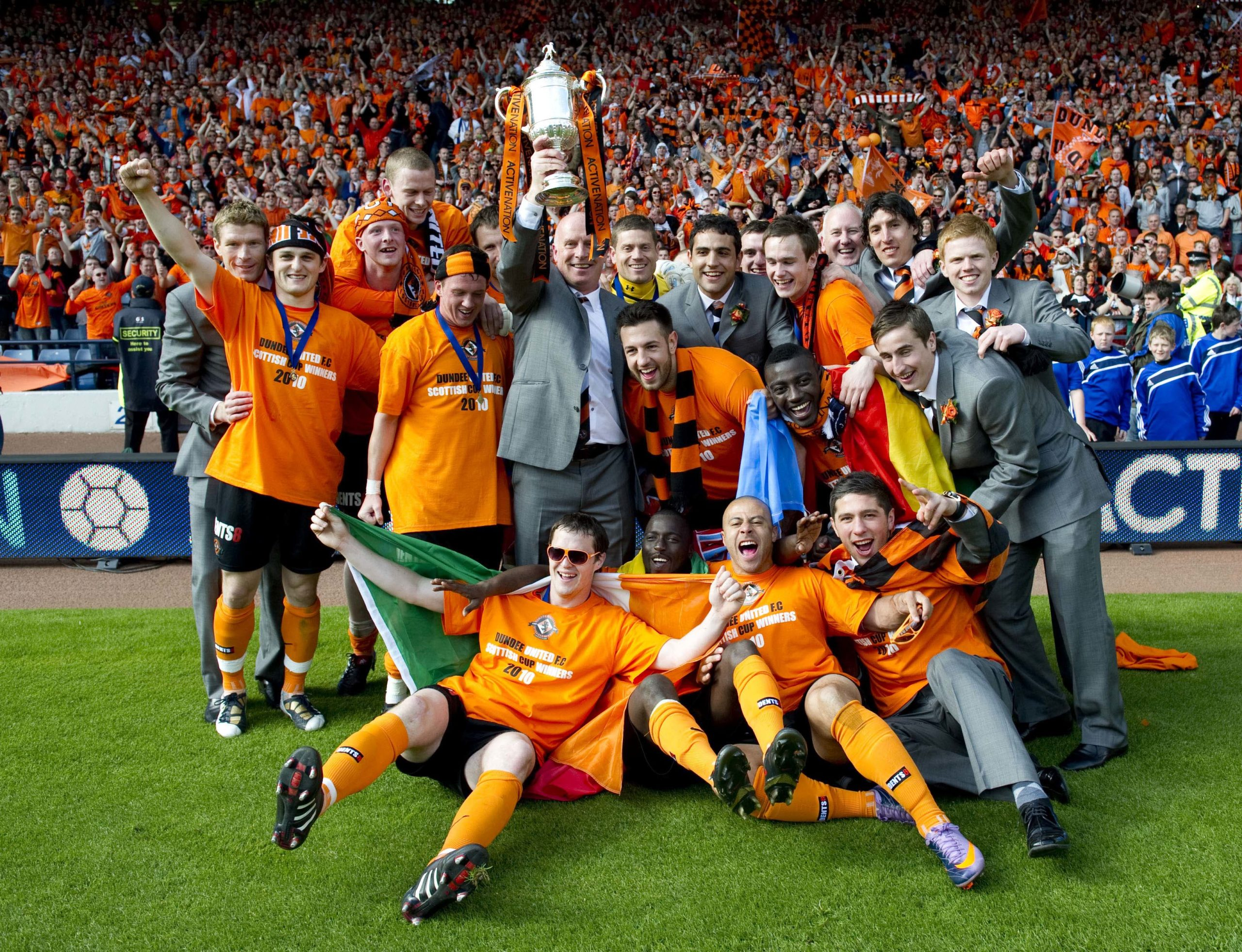 United 2010 Cup winners.