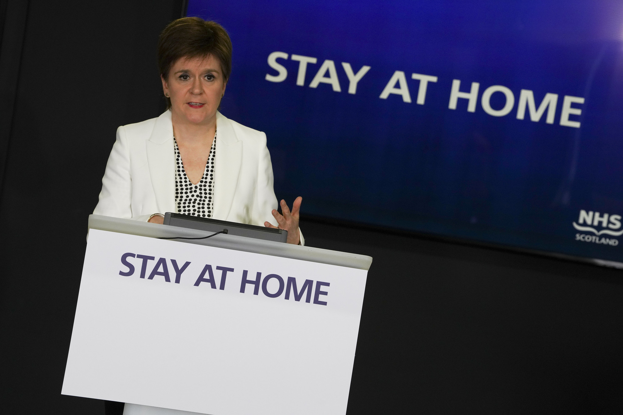 Scotland's First Minister, Nicola Sturgeon.
