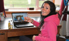 Gayle enjoyed a virtual whisky tasting online.