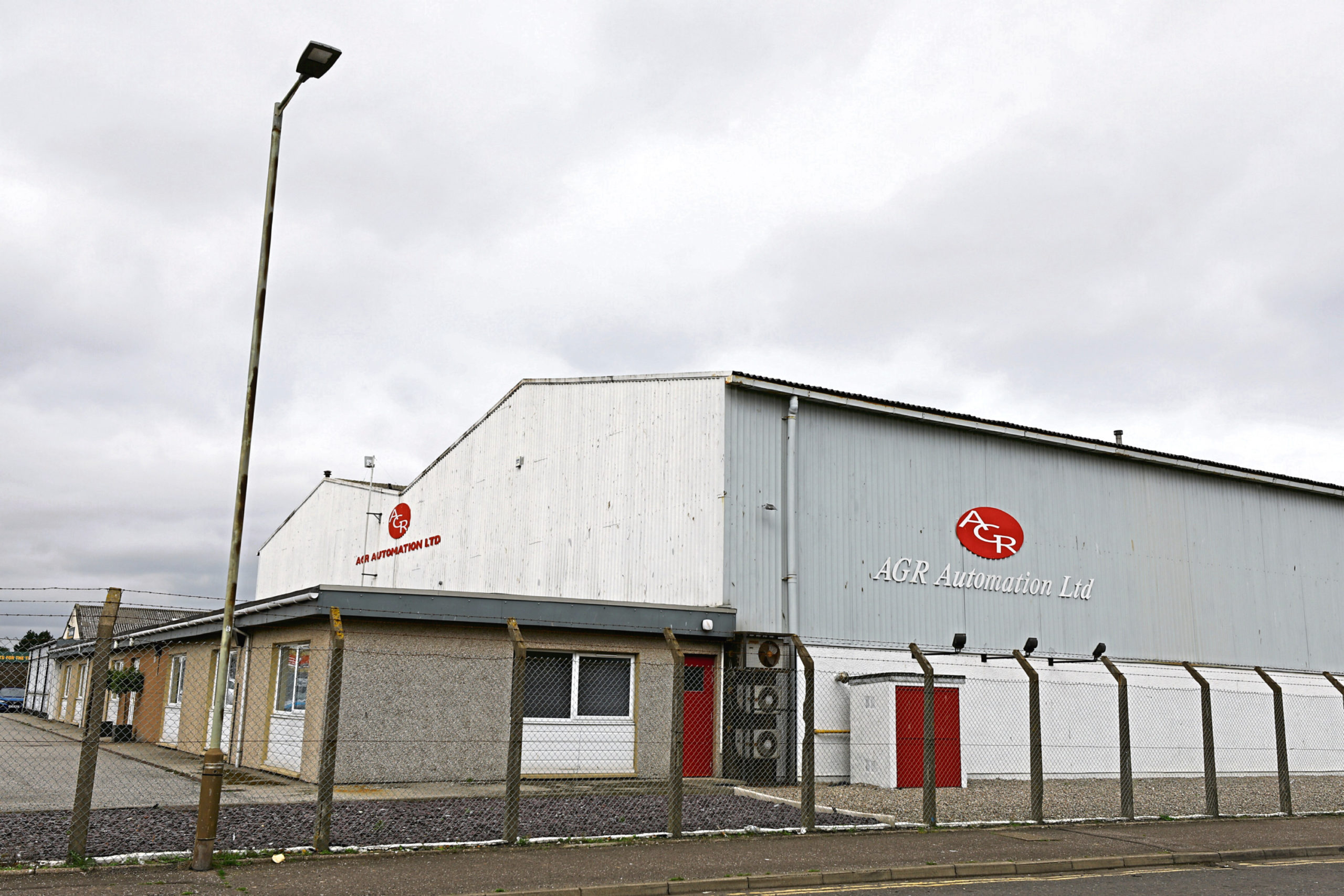 Courier News - Graham Huband story - AGR Automation.  CR0003379 THIS PICTURE FOR THE BUSINESS SECTION.  Picture shows; the AGR Automation premises at the Elliot Industrial Estate in Arbroath today. Tuesday 28th August 2018.