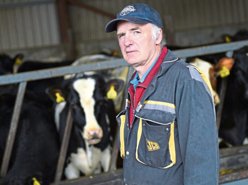 Dairy farmer Gordon Taylor has to find a new buyer for his milk..