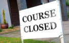 Scottish golf remains locked down until the end of the month.