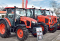 Sales of new tractors are at their lowest level in four years.