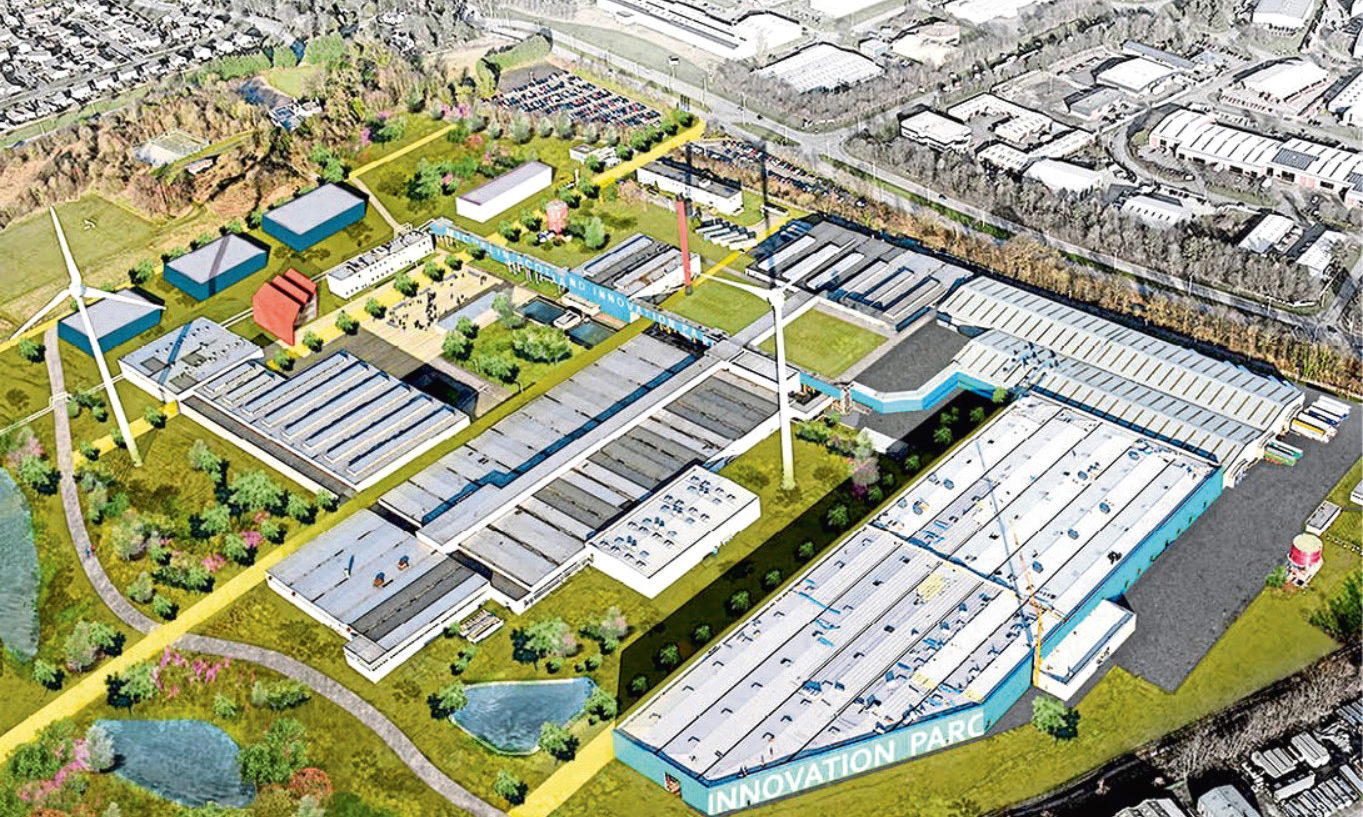 The plan to transform the Michelin tyre factory into an innovation park