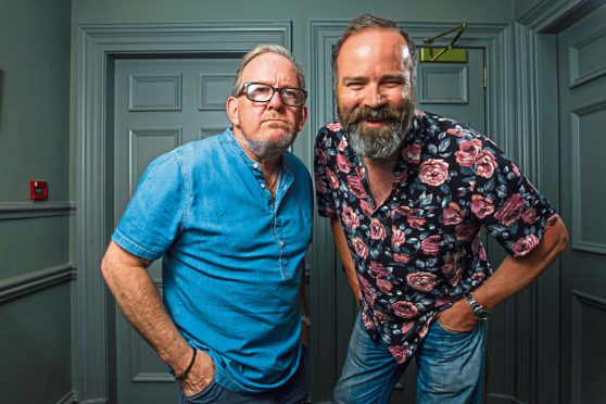 Ford Kiernan and Greg Hemphill, of comedy TV show Still Game.