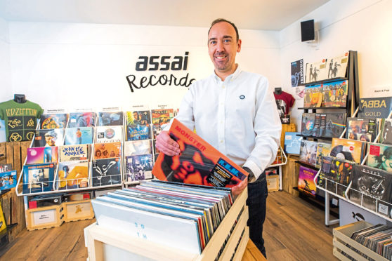 Keith Ingram, owner of Assai Records