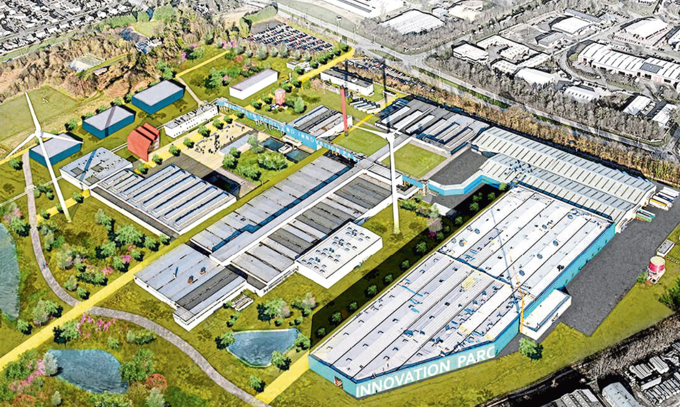 The vision for the Michelin Scotland Innovation Parc (MSIP).