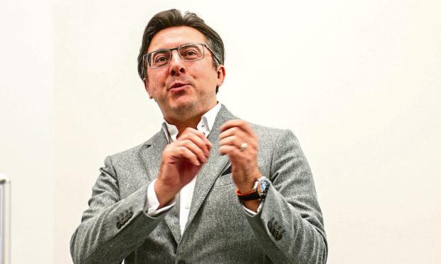 Chief executive and founder of Exscientia Professor Andrew Hopkins.