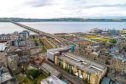 Dundee's waterfront project hopes to attract inward investment. Picture: Rising View Aerial Drone Video & Photography.