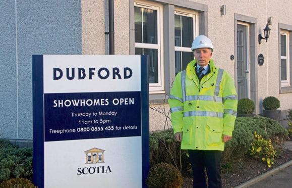 Scotia Homes managing director Martin Bruce