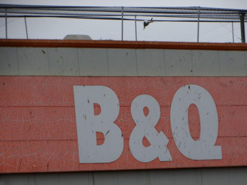 Birds trapped on B&Q Arbroath's roof.