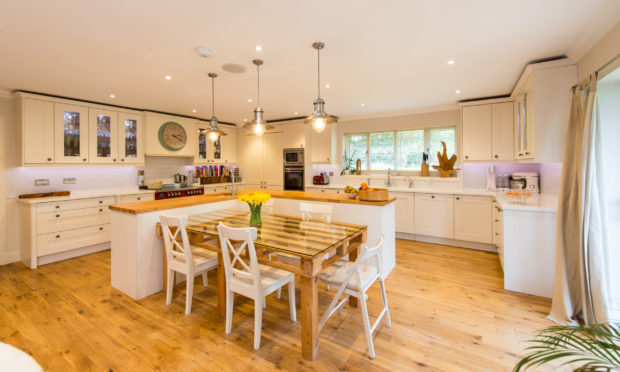 Prospective buyers can take a virtual tour of a property in Beechwood Park in Kinross-shire, marketed by Bell Ingram.